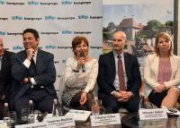 Olasz és egri díszvendégek, turisztikai karrier expo az Utazáson