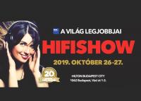 20. HIFI SHOW Kiállítás, 2019. október 26-27.