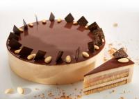 Tápiószecsői cukrászdában készült Magyarország tortája