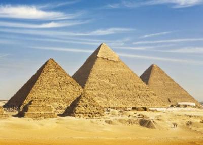 Már a piramisok is ezt hirdetik: Maradj otthon!