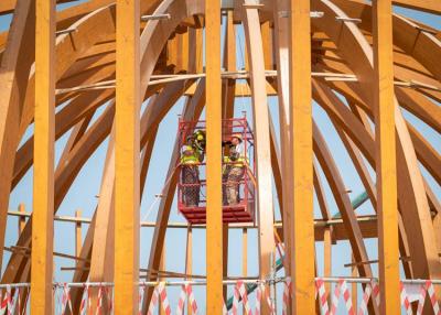 Elérte legmagasabb pontját Dubaiban a világkiállítás magyar pavilonja