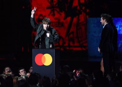 Taroltak a Sziget fellépők a Brit Awardson